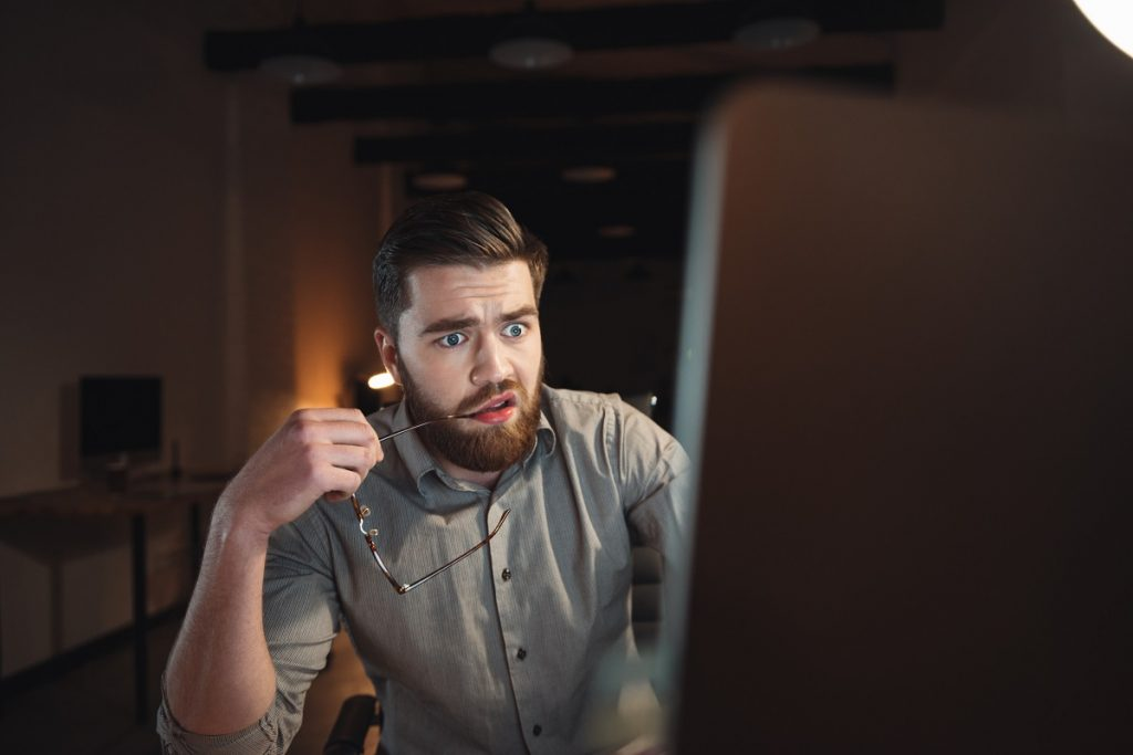 Confused Man Desktop