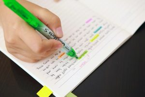 Highlight your script